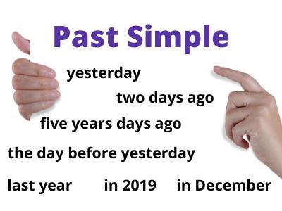 Past Simple. Charakterystyczne określniki czasu.