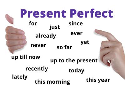 Present Perfect. Określniki czasu.