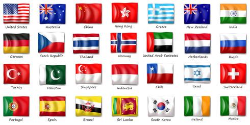 narodowości po angielsku