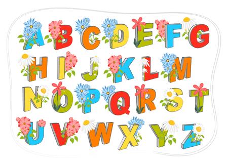 nauka alfabetu i literowania po angielsku