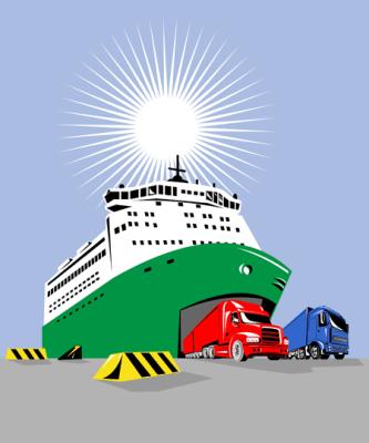 transport po angielsku, ferry prom