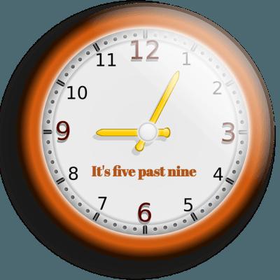 nauka godzin po angielsku
