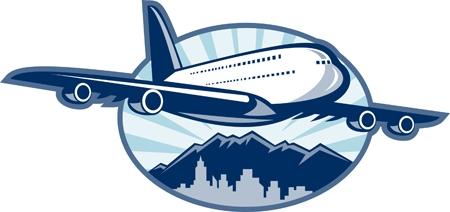 Jumbo jet. Odrzutowiec pasażerski.