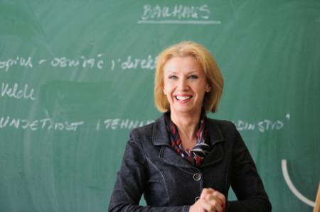 Nazwy zawodów po angielsku, a teacher nauczycielka