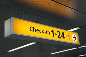 Odprawa lotnicza po angielsku