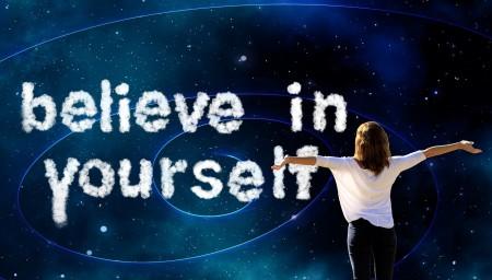 powiedzenie uwierz w siebie po angielsku