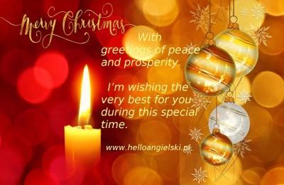 życzenia bożonarodzeniowe po angielsku z tłumaczeniem