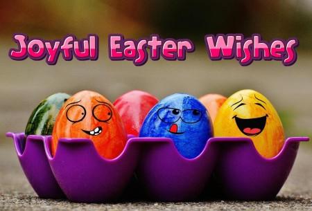 Joyful Easter Wishes. Radosnych Świąt Wielkanocnych.