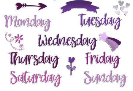 dni tygodnia po angielsku ćwiczenie wybierz dzień tygodnia