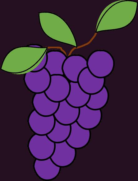 Grapes owoce po angielsku ćwiczenie
