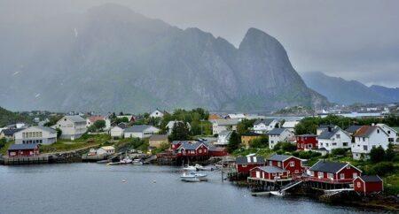 Norwegia nazwy krajów po angielsku ćwiczenie