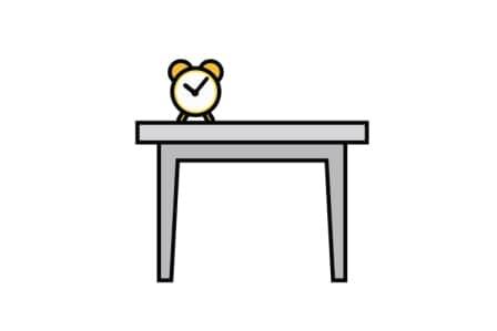 meble po angielsku ćwiczenie stół po angielsku