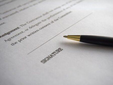 signature podpis, słówka dane osobowe ćwiczenie