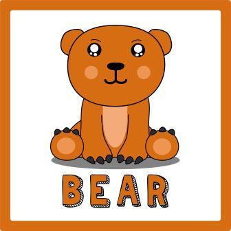 zwierzęta po angielsku ćwiczenie niedźwiedź