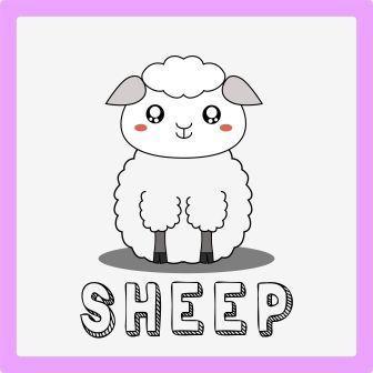 zwierzęta po angielsku ćwiczenie owca