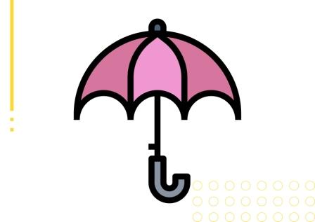 części garderoby i dodatki po angielsku parasol ćwiczenie z wymową