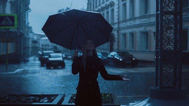 deszczowo po angielsku, pogoda, ćwiczenie wymowa