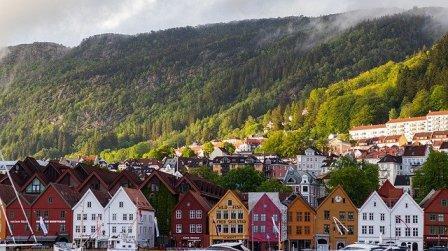 kraje po angielsku, ćwiczenie, wymowa, Norwegia
