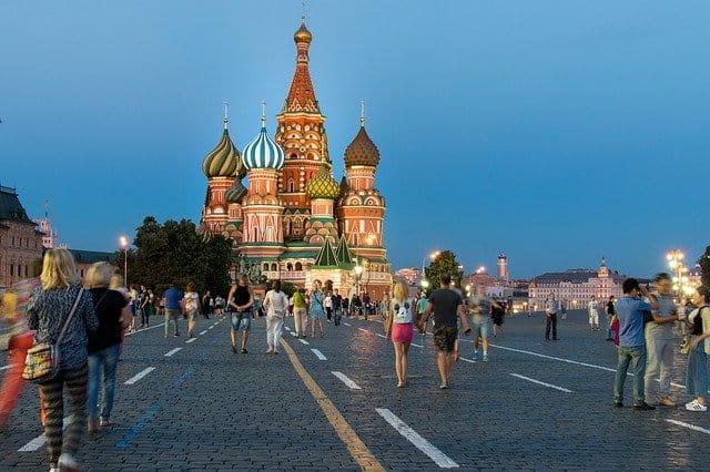 kraje po angielsku, ćwiczenie, wymowa, Rosja
