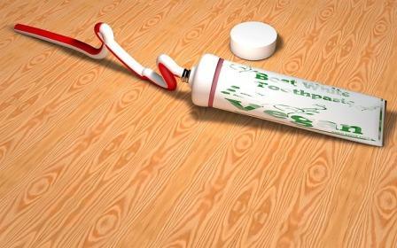 pasta do zębów po angielsku ćwiczenie, wymowa