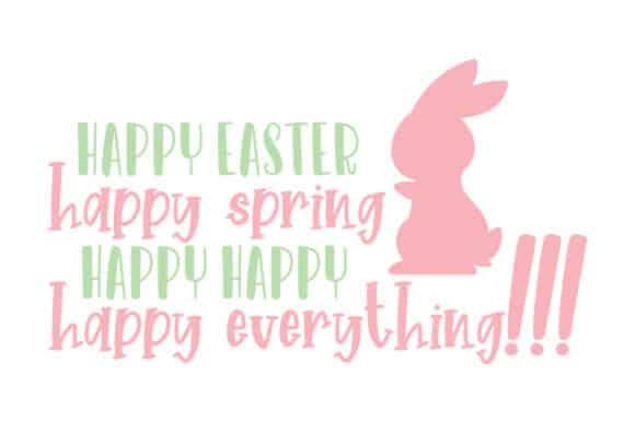 Happy Easter Wesołych Świąt Wielkanocnych