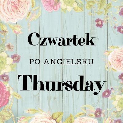 czwartek po angielsku