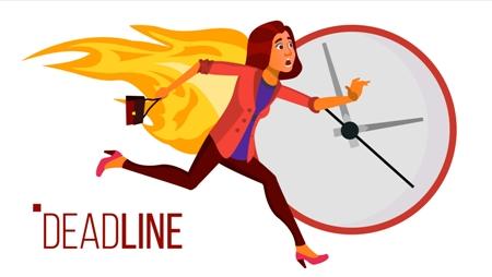 deadline-praca-opis pracy po angielsku